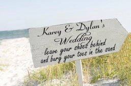 Ceremony sign, by familyattic on etsy.com