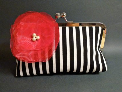 Clutch purse, by BelleJouJou on etsy.com