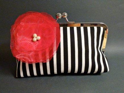 Clutch purse, by BelleJouJou on etsy.com