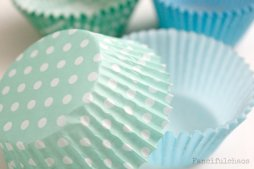 Cupcake liners, by FancifulChaos on etsy.com