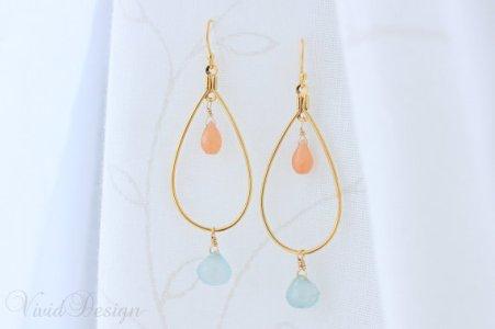 Earrings, by ilovevivid on etsy.com