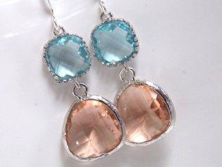 Earrings, by mlejewelry on etsy.com