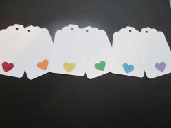 Favour tags, by MoosesCreations on etsy.com