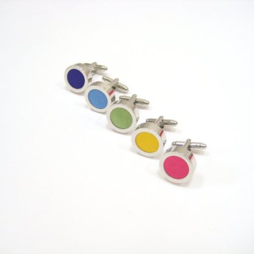 Groomsmen cufflink set, by TheFoxAndFig on etsy.com