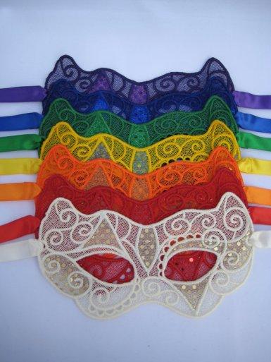Masks (great photobooth idea), by MissAdenine on etsy.com