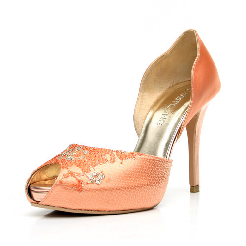 Peach Wedding Shoes 008 - Peach Wedding Shoes