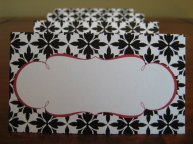 Placecards, by janeeselitedesigns on etsy.com
