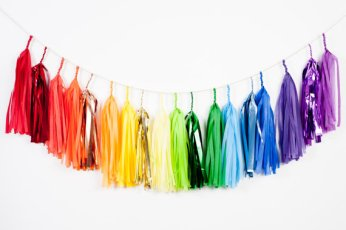 Tassel garland, by StudioMucci on etsy.com
