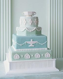 Wedding cake {via marthastewartweddings.com}
