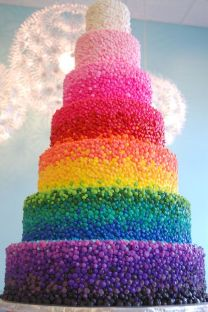 Wedding cake {via vinecdote.com}