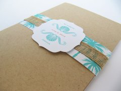 Wedding invitation, by JutingDesignStudio on etsy.com