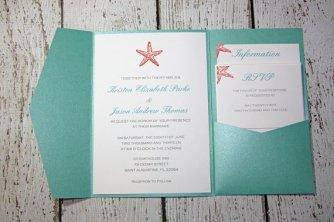 Wedding invitation, by TorisCustomCreations on etsy.com