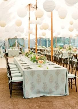 Wedding reception inspiration {via snippetandink.com}