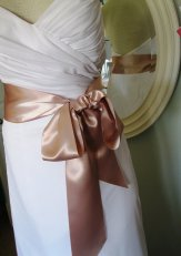 Bridal sash, by FascinatingCreations on etsy.com