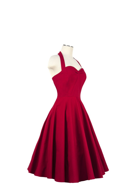 Bridesmaid dress by vintagemeupbyc on the for Vintage pin up wedding dresses