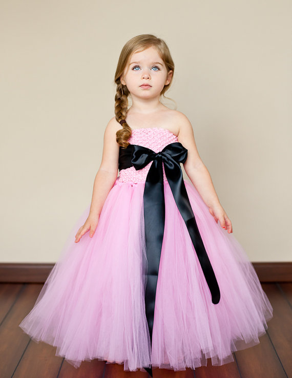 Flower Girl Dress By Thelittlepeaboutique On Etsy The Merry Bride