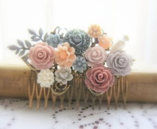 Hair comb, by Jewelsalem on etsy.com