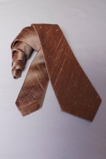 Men's copper tie, by EmpressBride on etsy.com