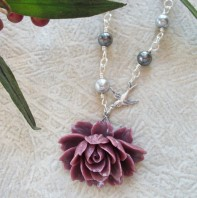 Necklace, by allstrungout1 on etsy.com