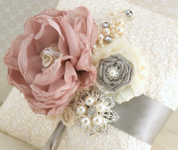 Dusty Rose And Grey Wedding