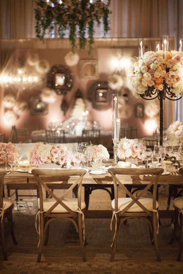 Copper And Blush Wedding The Merry Bride