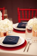 Table setting, {via elizabethannedesigns.com}