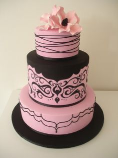 Black And Light Pink Wedding The Merry Bride