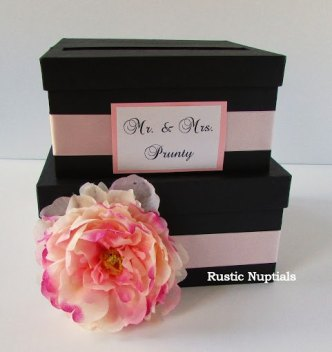 Wedding card box, by RusticNuptials on etsy.com
