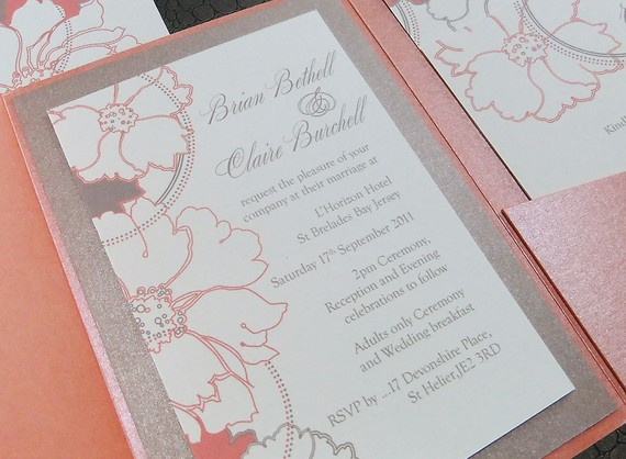 Wedding Invitation By Emilyedsondesign On The Merry Bride