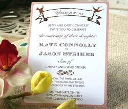 Wedding invitation, by sofiainvitations on etsy.com