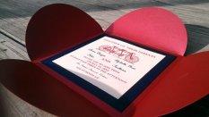 Wedding invitation, by WildLaceInvitations on etsy.com