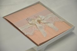 Boxed wedding invitation, by BlackTieOccasion on etsy.com