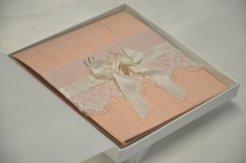 Boxed wedding invitation, by BlackTieOccasion on etsy.com