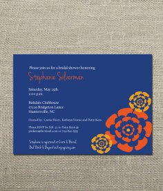 Bridal shower invitation, by KellerCreative on etsy.com