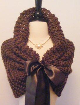 Bridal shrug, by ElegantKnitting on etsy.com