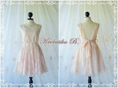 Bridesmaid dress, by LovelyMelodyClothing on etsy.com
