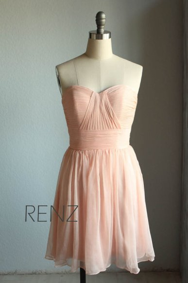Bridesmaid dress, by RenzRags on etsy.com