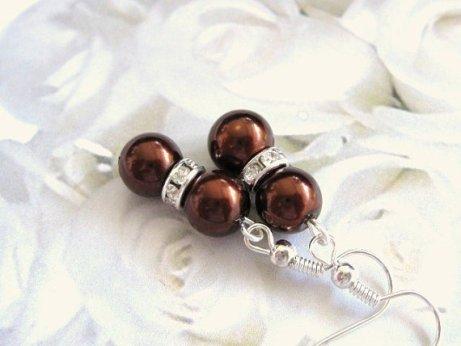 Bridesmaid earrings, by pleasurearts on etsy.com