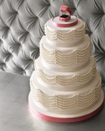 Cake idea {via marthastewartweddings.com}