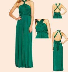 Convertable bridesmaid dress, by BlushingBridesmaids on etsy.com