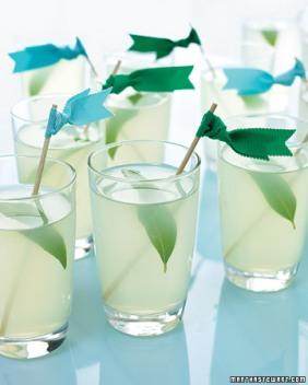 Drinks idea {via marthastewart.com}