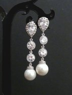 Earrings, by JCBridalJewelry on etsy.com