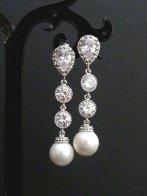 Earrings, by JCBridalJewelry on etsy.com