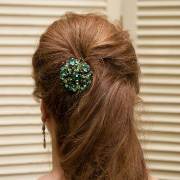 Hair accessory, by belcanto on etsy.com