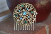 Hair comb, by ahunterrn on etsy.com