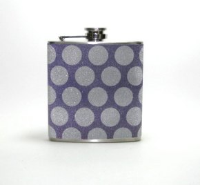 Hip flask (groomsmen gift idea), by readysetgo2370 on etsy.com