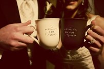 Hot chocolate wedding toast! {via artofweddingpdx.com}