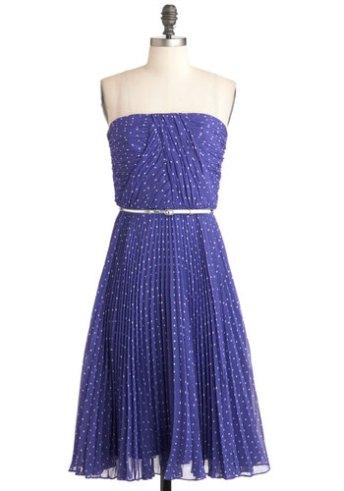 Linger a little longer in violet dress, from modcloth.com