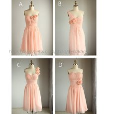 Mix and match bridesmaid dresses, by RenzRags on etsy.com