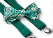 Pageboy bow-tie and suspenders, by PaigeGrayson on etsy.com